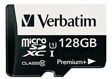 Tarjeta Micro SDXC 128gb Vervatim + adaptador lector. SD +adaptador usb 2.0