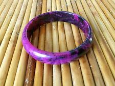 New fashion Beautiful natural color purple jade jewelry Bangle bracelet