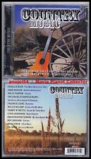 COUNTRY MUSIC (CD) Rich,Denver,Parton 2005 NEUF/NEW
