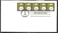 US SC # 3762 American Clock - Coil- Litho   FDC. Ready for Cachet.