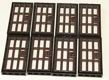 LEGO LOT OF 8 BLACK TOWN JAIL DOORS WITH BARS BARRED DARK BROWN PIECES  sc 1 st  eBay : jail doors - pezcame.com