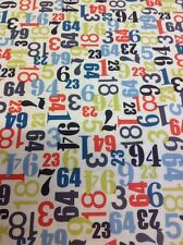 Fat Quarter 1404 Little Monsters numeri da Henley studio MAKOWER UK