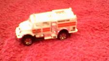 Matchbox - 1-120 Unboxed - #69 International Work Star Brush Fire Truck - White