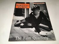 Sight And Sound Vintage Cinema Movie Magazine Spring 1961 Lee Remick Cover 60's