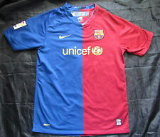 Barca Nike FC Barcelona HOME shirt jersey 2008-2009 SIZE XL.Boys (XS adults)