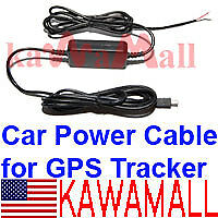 Direct Wire Car Charger Battery Cable for Gps Tracker