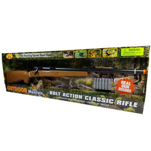 Electronic Bolt Action Classic Rifle Toy Rifle Gun Battery Operated Sounds