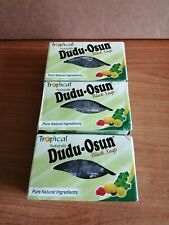 Set of 3x150g Tropical Naturals Dudu-Osun Black Soap