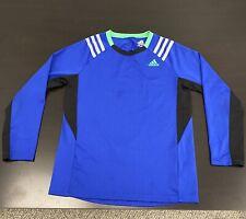Kids Adidas Climacool Long Sleeve Atheltic Shirt (Size 7X)
