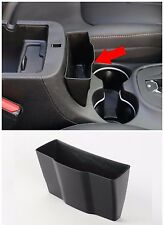 fit 2014-2019 Jeep Cherokee Black Car Inner External Armrest Storage Box Holder