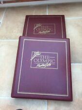 The Olympic Masterfile Stamp Collections (1992)- 2 Albums COLLECTORS EDITION