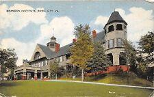 A76/ Basic City Virginia Va Postcard c1910 Brandon Institute 1