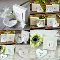 EAST OF INDIA PORCELAIN MINI HEART DISH WITH GIFT BOX IDEAL WEDDING BIRTHDAYS