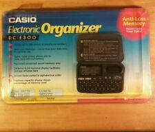 RARE NEW in BOX Vintage CASIO DC-E300 Black DATA-BANK 300 Electronic Organizer