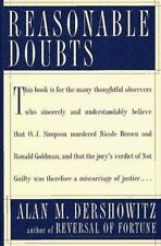 REASONABLE DOUBTS : The O.J. Simpson Case and the Criminal Justice-ExLibrary