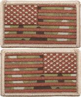 MultiCam US Flag Patch Hook-Loop American Military Army Camo OCP Scorpion