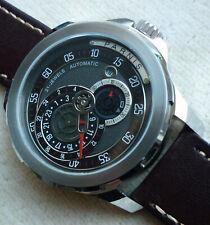 Hochwertige Parnis Armbanduhr 44 mm, 21 Jewels Miyota Automatik