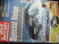 ** 4x4 Tout Terrain magazine n°162 Toyota B85  Dossier Neige  Raid bleu Hankook