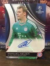 2015/2016 Manuel Neuer Auto UEFA Champions League Prized Collection  /50 Bayern