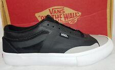 0767ee8832 New Vans AV Rapid Weld Pro Black Grey White Ultra Cush Skate Shoe Men Size 7