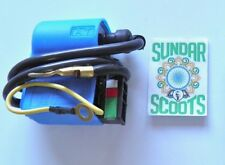 12V Blue Cdi Unit For Lambretta And Vespa Scooters . Suitable For Other Makes