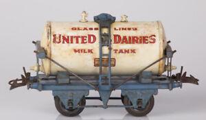 Hornby O Gauge No.1 Milk Tank Wagon United Dairies