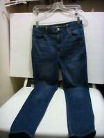 Women's American Eagle Stretch Medium Wash Super High Rise Jegging Jeans 10 Long