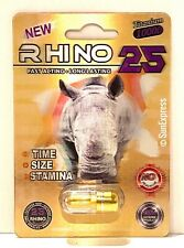 *FLASH SALE* Rhino 25 Sex Performance Male Enhancement Titanium 10000 Sex Pill