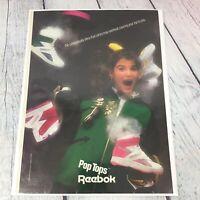 Vintage 1987 Reebok Pop Tops Shoes Genuine Magazine Advertisement Print Ad