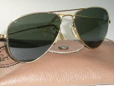 a6c53d521b 1960 s 52  14 VINTAGE B L RAY-BAN W1878 G15 SMALLEST ARISTA AVIATOR  SUNGLASSES