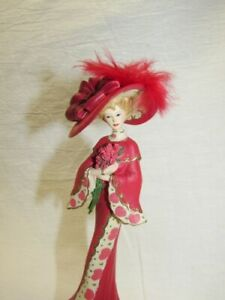 """Thomas Kinkade """"A Show Of Support"""" Figurine from Passion for Red Collection"""