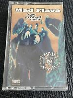 NO TAPE Mad Flava ‎From Tha Ground Unda Cassette Tape 1994 Hip Hop J CARD ONLY