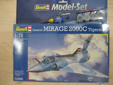 Revell 04366 Dassault Mirage 200C Tigermeet 1:72 FULL set with glue,brush,paint