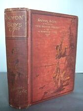 Devon Boys-eine Geschichte der Nordküste von G-Fenn-Illustrierte HB