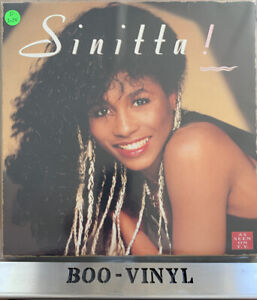 Sinitta ‎– Sinitta! (Self Titled) Vinyl LP Album Record In Ex+ Condition SUPURB