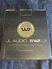 "JL AUDIO 8W7AE-3 PRO 8"" CAR SUB 3-OHM 500W RMS W7 SUBWOOFER +1YR WARRANTY NEW"