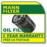 W610/3 MANN HUMMEL OIL FILTER (Daihatsu, Fiat, Ford, Vauxhall) NEW O.E SPEC!