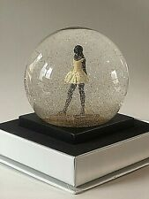 Handcrafted Cool Snow Globes Degas Dancer Snow Globe African American Ballerina