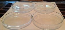 Scientific Lab Glass Pyrex Petri Bottoms (4)
