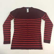 100% Merino Wool Patagonia sweater, Women's small S red striped
