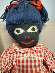 "Vintage artist cloth hand made Doll Americana 18"""