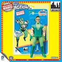 """DC Comics Super Powers GREEN ARROW retro 8"""" Figure With Fist Fighting Action NEW"""