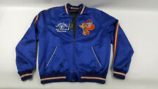 New Polo Ralph Lauren Satin Souvenir Baseball Jacket Ralph's Tigers XL NWT $598