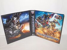 Custom Made Transformers Revenge Of The Fallen Trading Card Binder Graphics Only
