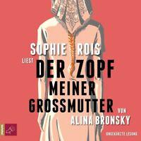 DER ZOPF MEINER GROßMUTTER - ROIS,SOPHIE  5 CD NEW BRONSKY,ALINA