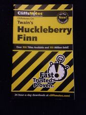 Cliff Notes On Twain's Huckleberry Fin
