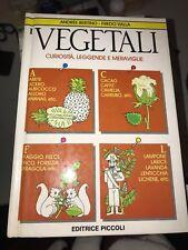 BERTINO, VALLA - I VEGETALI - ED. PICCOLI - 1987