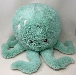 Squishable Green Octopus Jumbo Xtra Soft Stuffed Animal Plush Sea Creature