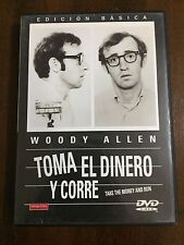 TOMA EL DINERO Y CORRE - TAKE THE MONEY AND RUN - 1 DVD - WOODY ALLEN - 81 MIN