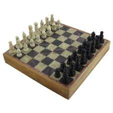 Piedra de marmol arte unico India piezas de ajedrez y juego de mesa 8 X 8 pul...